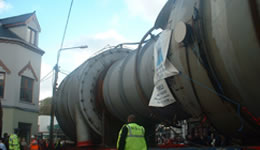 Relocation of Vessels